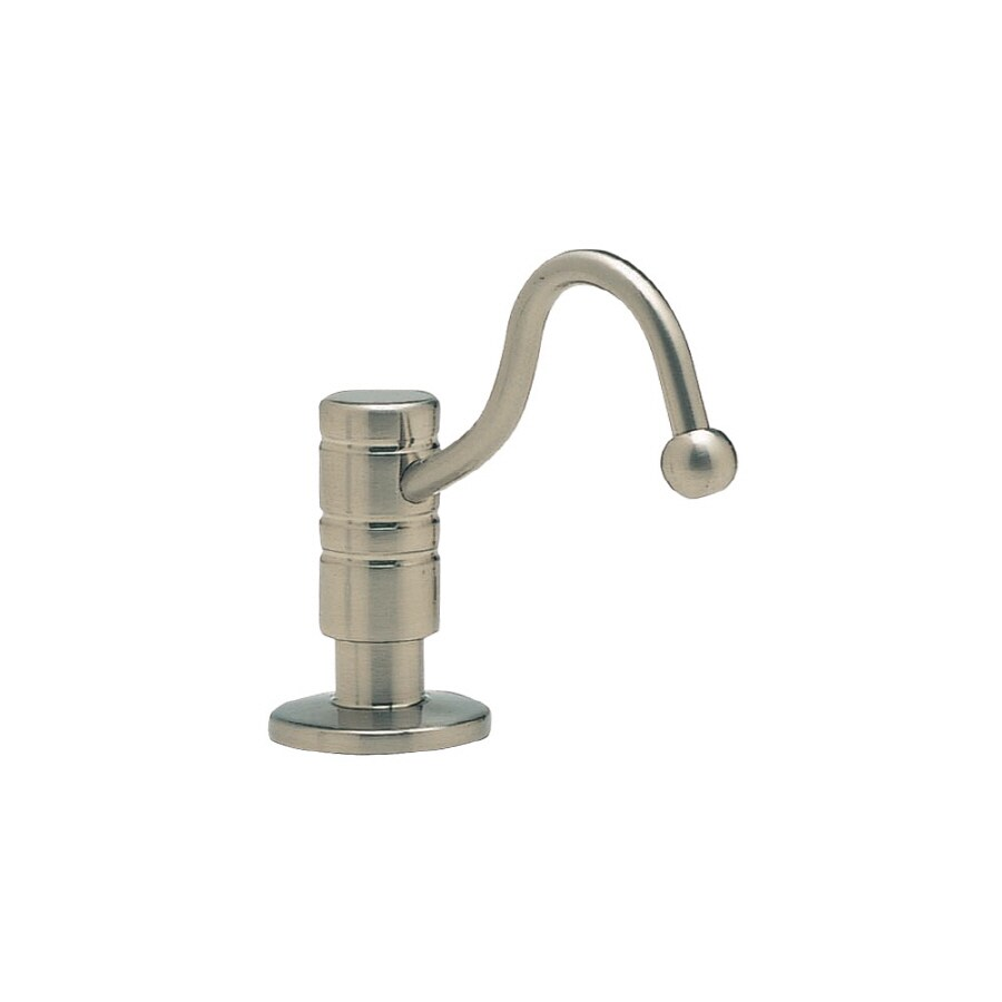 BLANCO Harvest Satin Nickel Soap and Lotion Dispenser