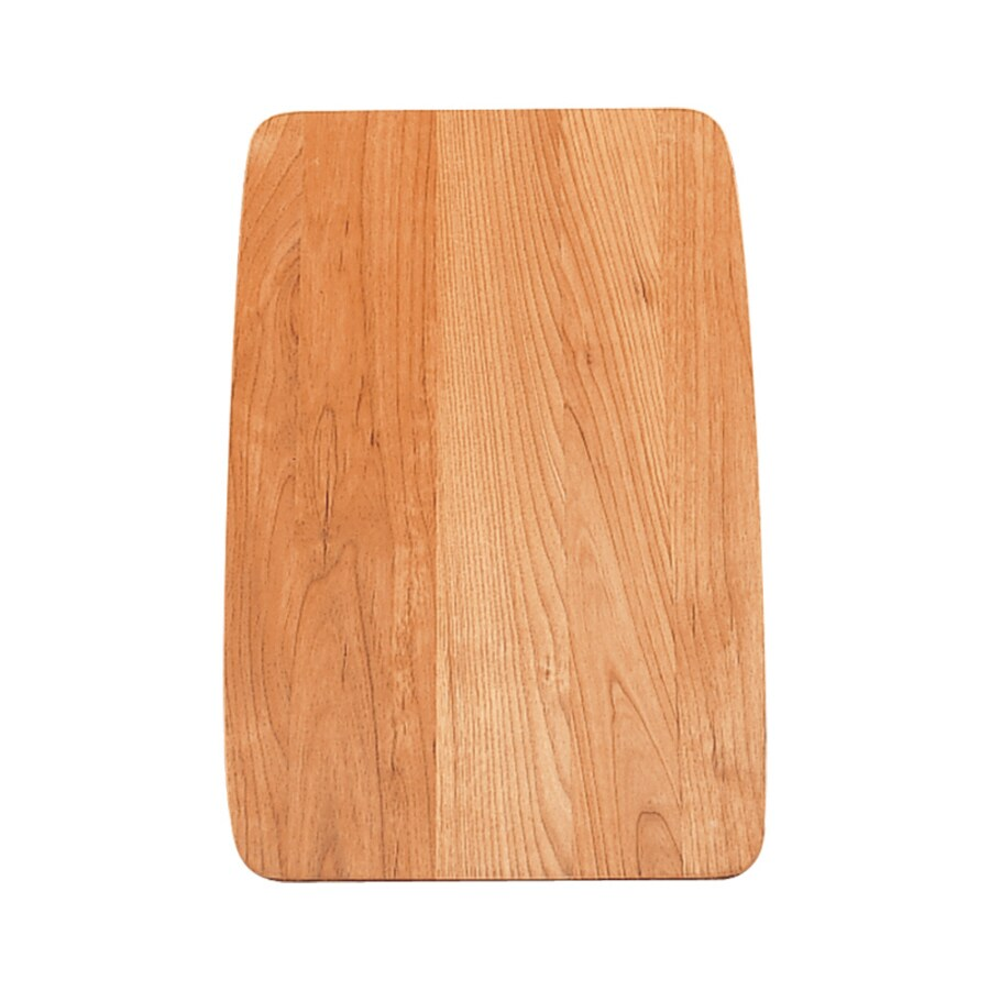 BLANCO 17-1/2-in L x 11-1/2-in W Wood Cutting Board
