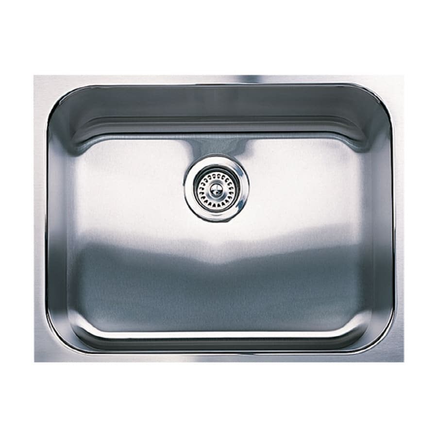 BLANCO Spex Plus 18-in x 23-in Stainless Steel Single-Basin Undermount Residential Kitchen Sink
