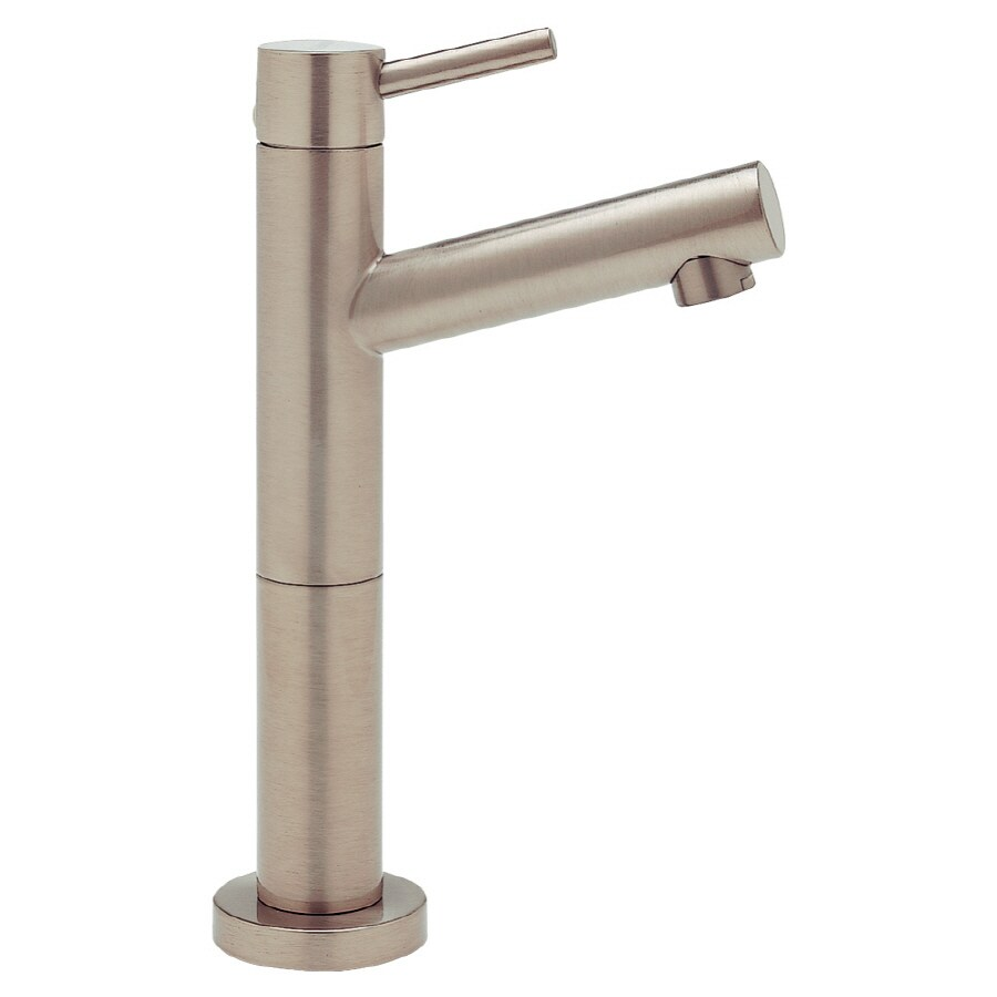 BLANCO Blancoalta Satin Nickel 1-Handle Bar and Prep Faucet