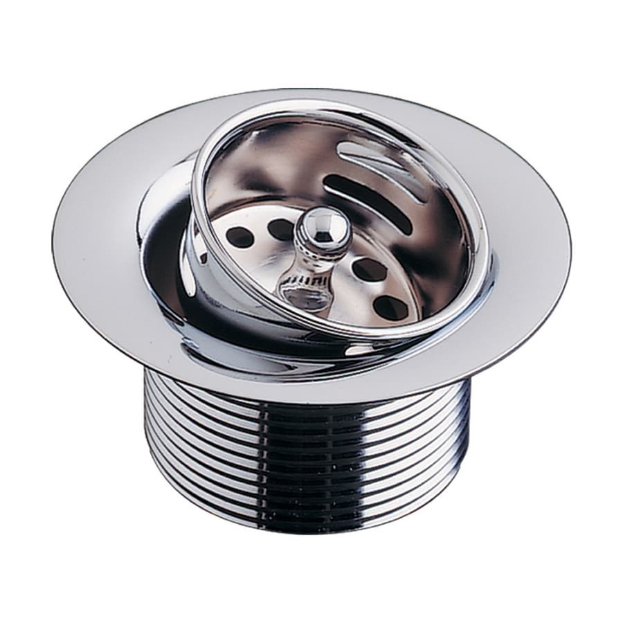 BLANCO 2-in dia Chrome Fixed Post Sink Strainer