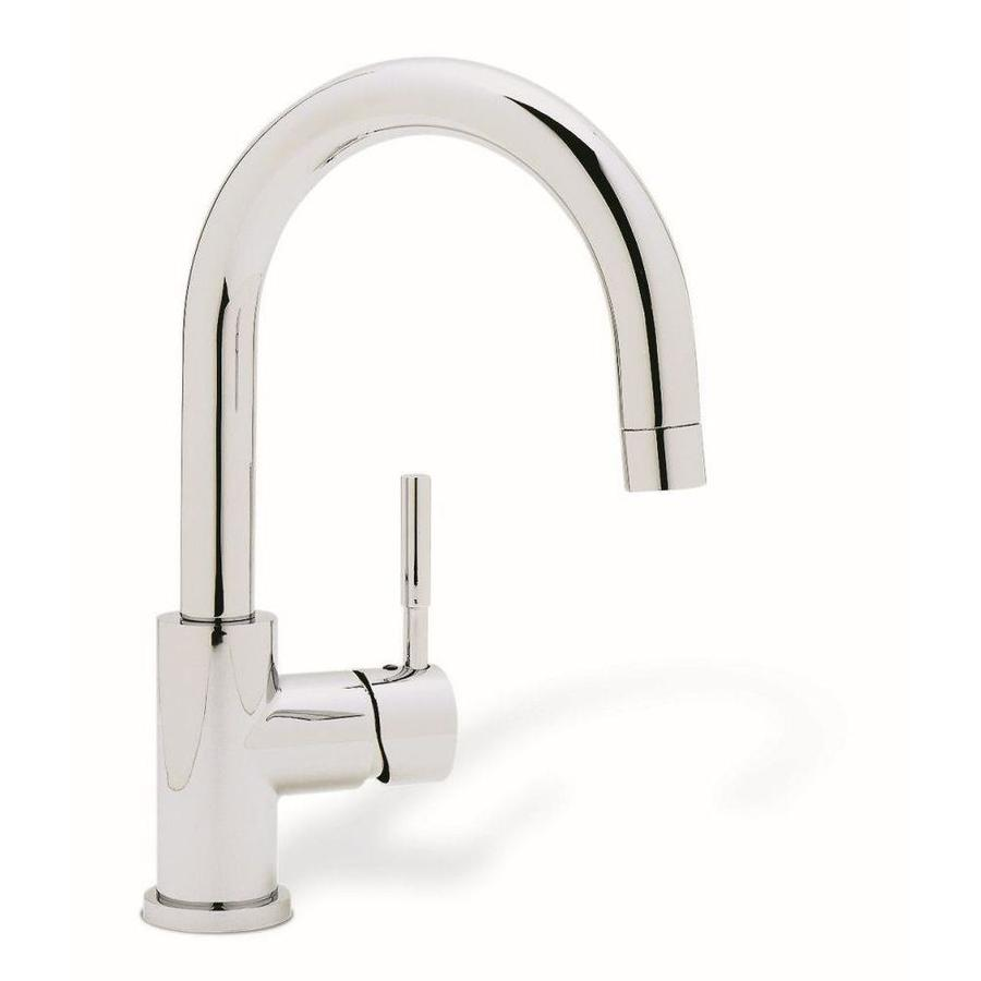 BLANCO Meridian Chrome 1-handle-Handle Deck Mount High-arc Bar And Prep Faucet