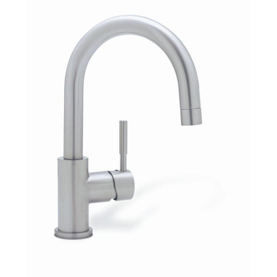 Blanco Sinks And Faucets : Shop BLANCO Blancomeridian Satin Nickel 1-Handle Bar and Prep Faucet ...