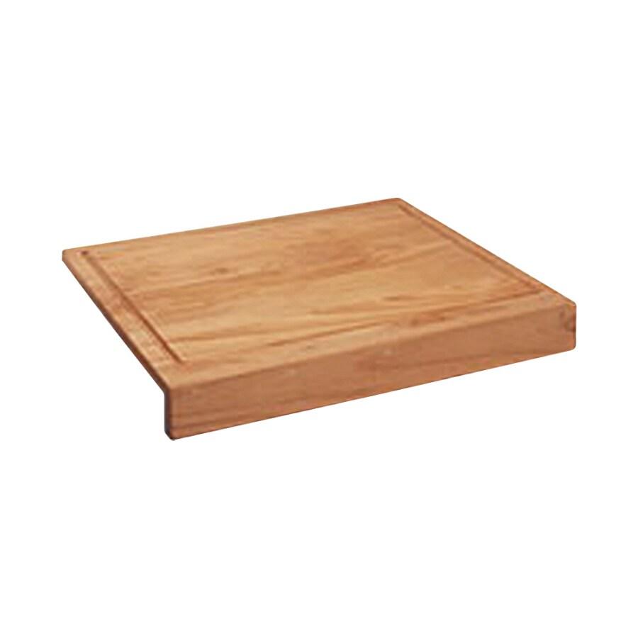 BLANCO 18-in L x 15-3/4-in W Wood Cutting Board