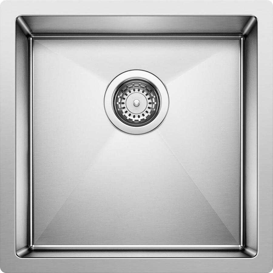 Charmant BLANCO Precision Satin Polished Single Basin Stainless Steel Undermount  Residential Bar Sink