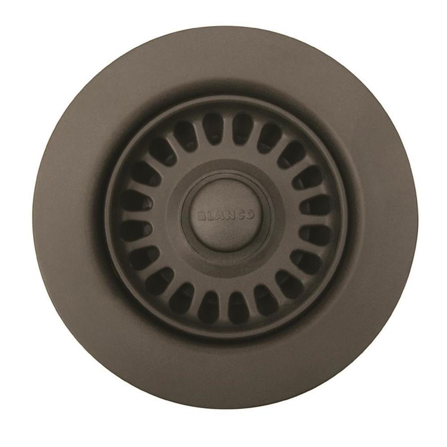 BLANCO 4.5-in Cafe Brown Plastic Fixed Post Kitchen Sink Strainer