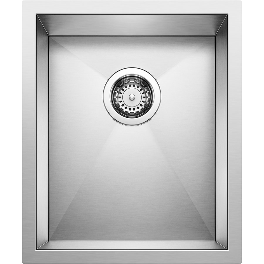 BLANCO Precision 15-in x 18-in Stainless Steel Single-Basin Undermount Residential Kitchen Sink