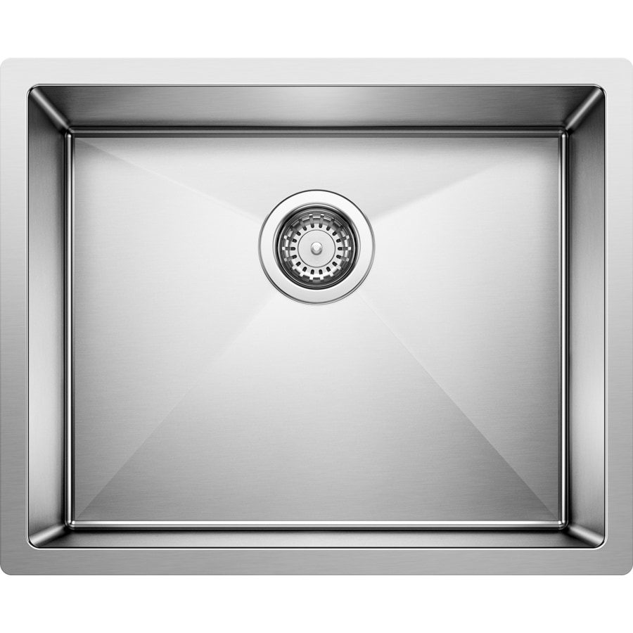 BLANCO Precision 18-in x 22-in Stainless Steel Single-Basin Undermount Residential Kitchen Sink
