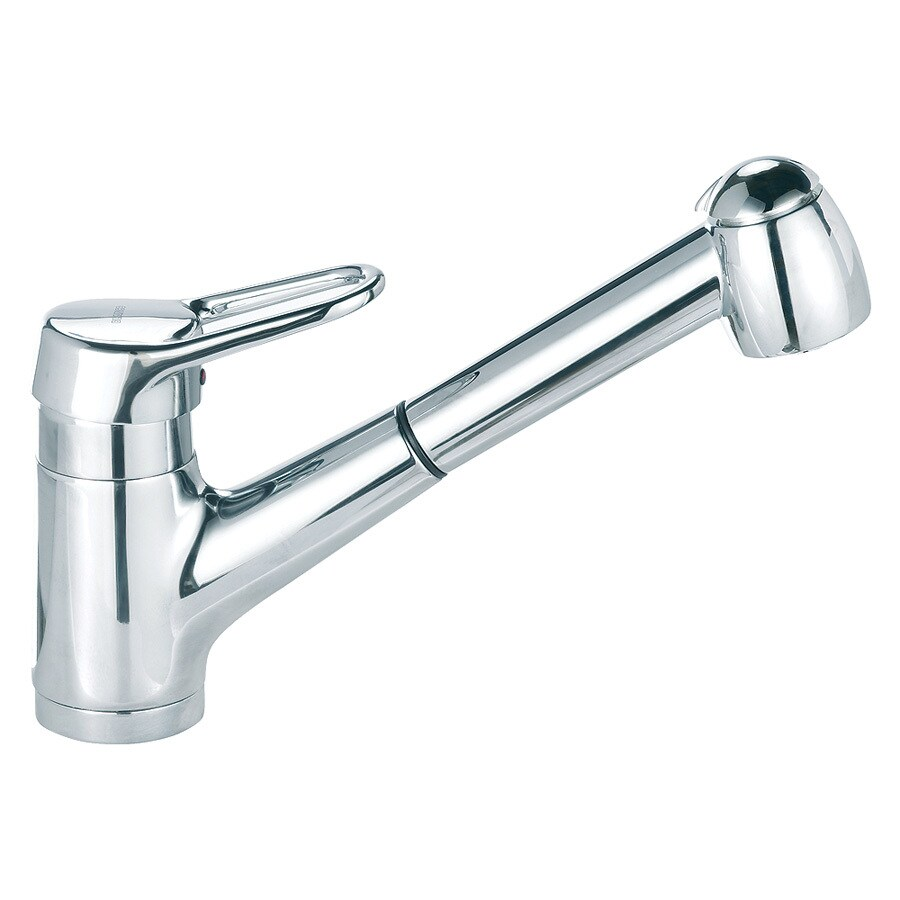 blanco faucets kitchen shop blanco classic nouveau chrome 1 handle pull out 10751