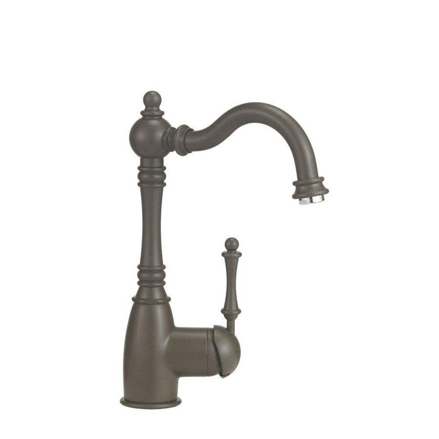 BLANCO Grace Cafe Brown 1-Handle Deck Mount High-Arc Bar and Prep Faucet