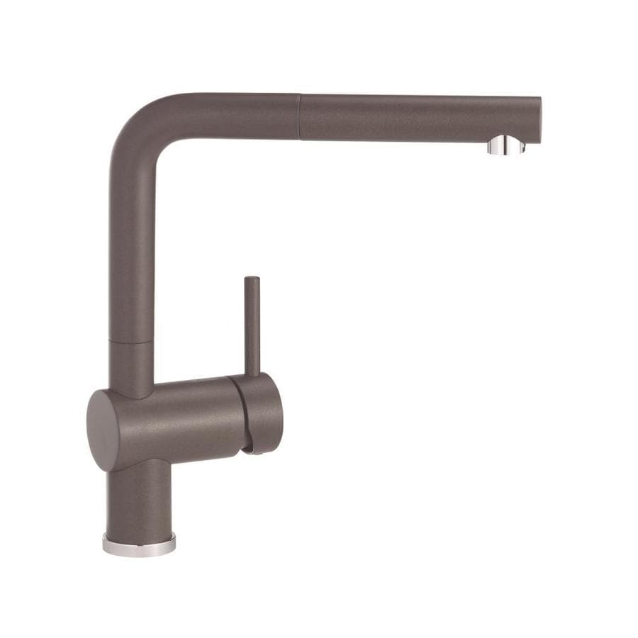 BLANCO Linus Brown 1-Handle Deck Mount Pull-Out Kitchen Faucet