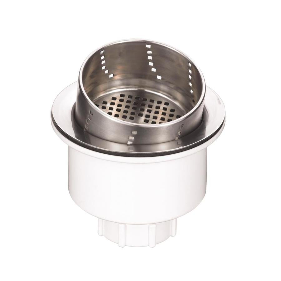 BLANCO 3.5-in Chrome Stainless Steel Kitchen Sink Strainer Basket