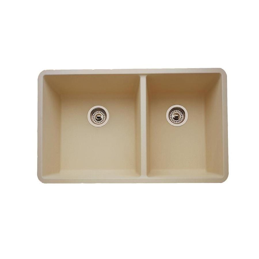 Backed Up Double Kitchen Sink
