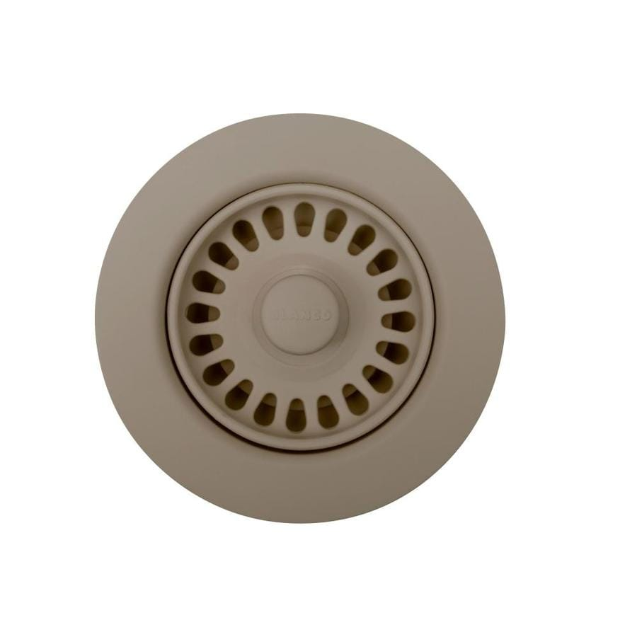 BLANCO 4.5-in Truffle Plastic Fixed Post Kitchen Sink Strainer