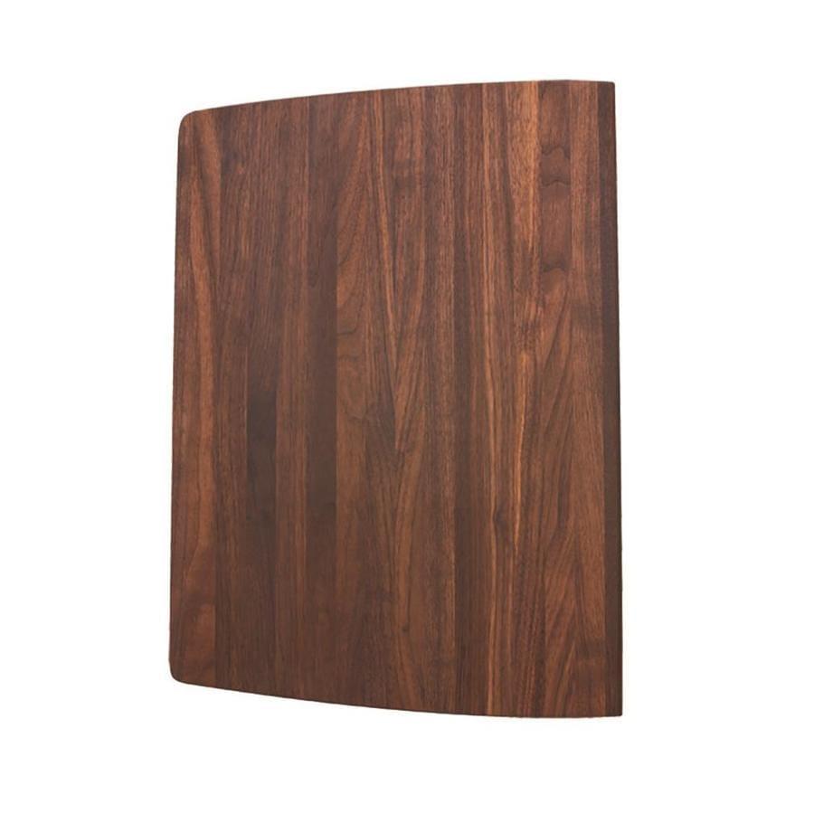 BLANCO 18.75-in L x 13.375-in W Wood Cutting Board