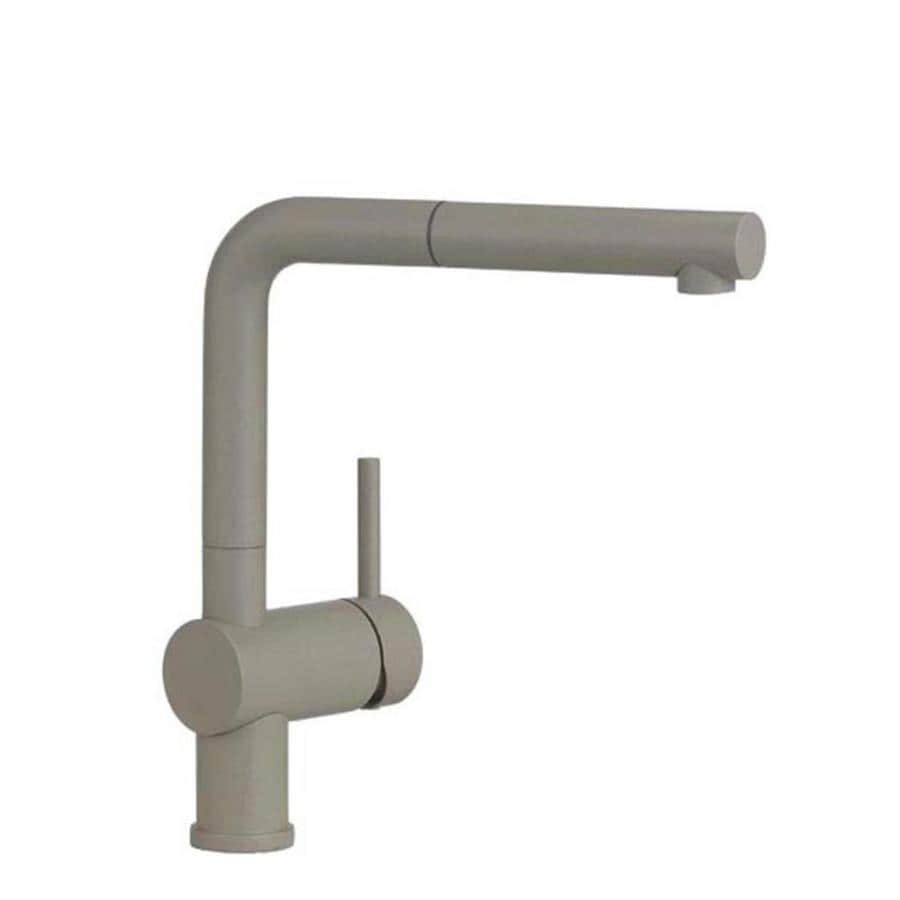 BLANCO Linus Truffle 1-Handle Deck Mount Pull-Out Kitchen Faucet