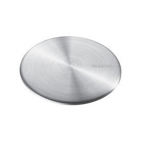 BLANCO 3.5 In Brushed Stainless Steel Fixed Post Kitchen Sink Strainer