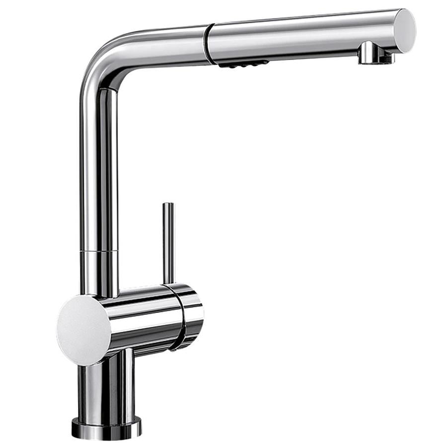 BLANCO Linus Chrome 1-Handle Pull-Out Kitchen Faucet