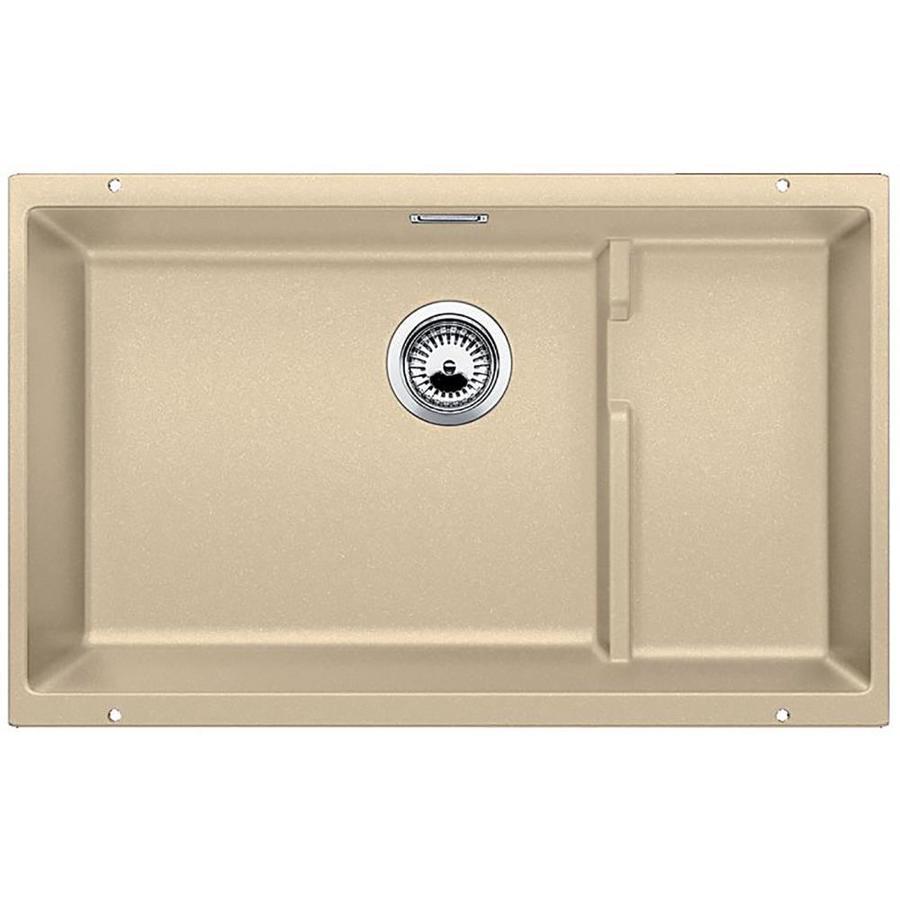 BLANCO Precis 28.7500-in x 18.1250-in Biscotti Single-Basin Granite Undermount Residential Kitchen Sink
