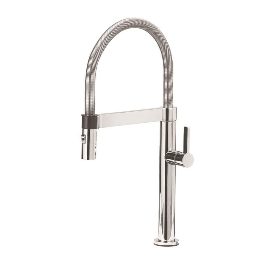 shop blanco culina chrome 1 handle pre rinse kitchen
