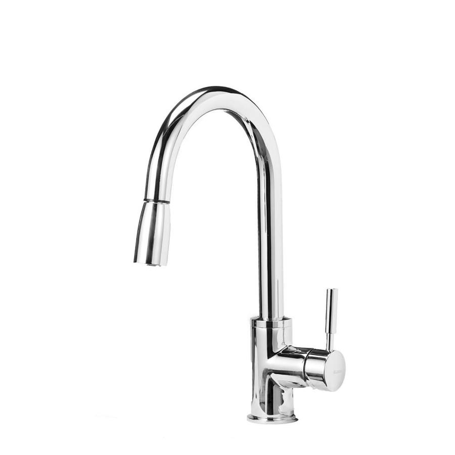 Blanco Sonoma Chrome 1 Handle Deck Mount Pull Down Kitchen Faucet