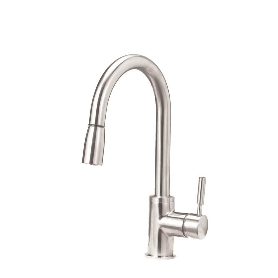 BLANCO Sonoma Stainless Steel 1-Handle Deck Mount Pull-Down Kitchen Faucet