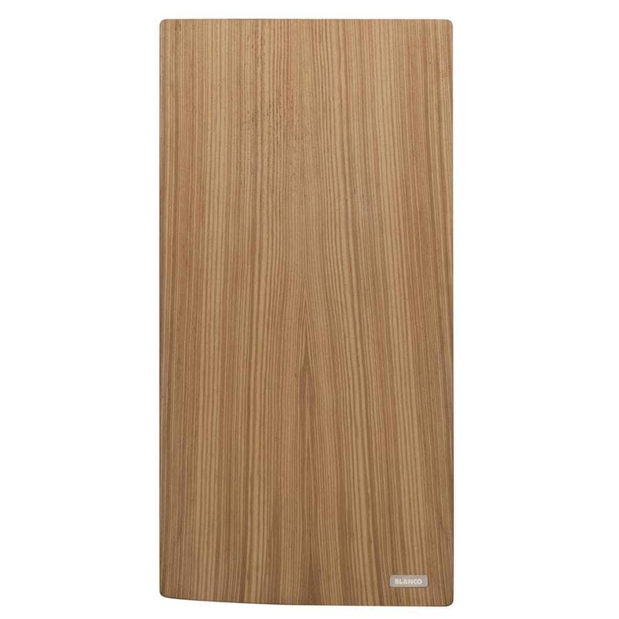 BLANCO 17.75-in L x 10.25-in W Wood Cutting Board