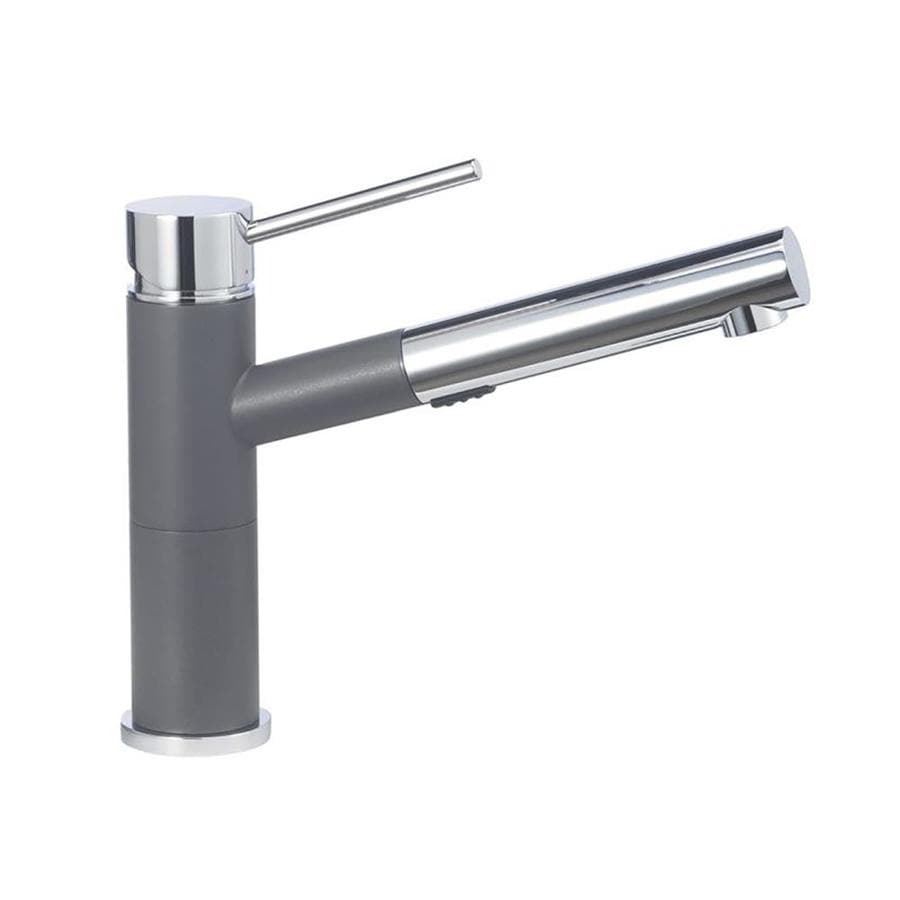BLANCO Alta Cinder 1-Handle Deck Mount Pull-Out Kitchen Faucet