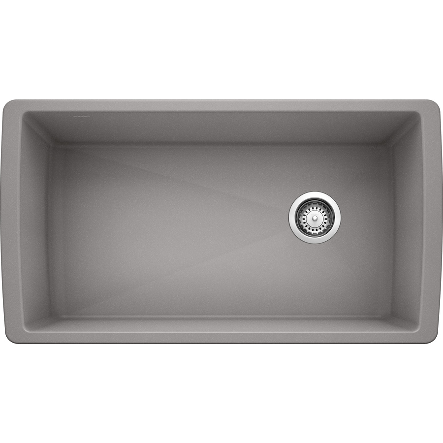 BLANCO Diamond 33.5 In X 18.5 In Single Basin Undermount Residential  Kitchen Sink
