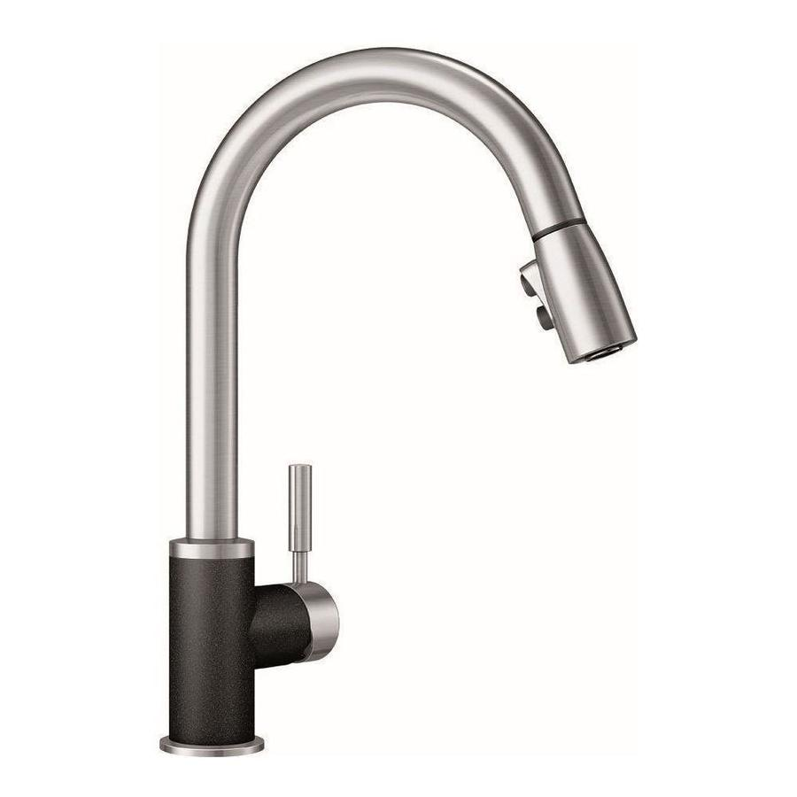 BLANCO Sonoma Anthracite/Stainless 1-Handle Deck Mount Pull-Down Kitchen Faucet