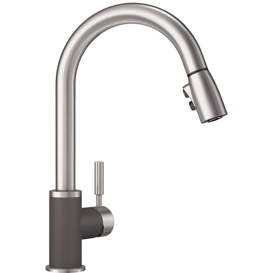 BLANCO Sonoma Cinder/Stainless 1-Handle Pull-Down Kitchen Faucet