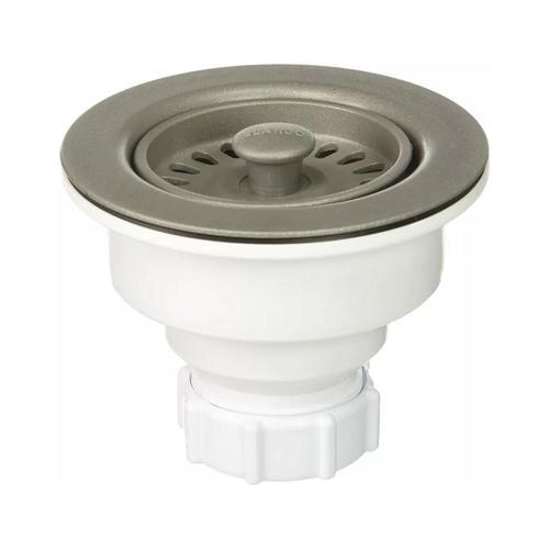 Blanco 3 5 In Metallic Gray Plastic Rust Resistant