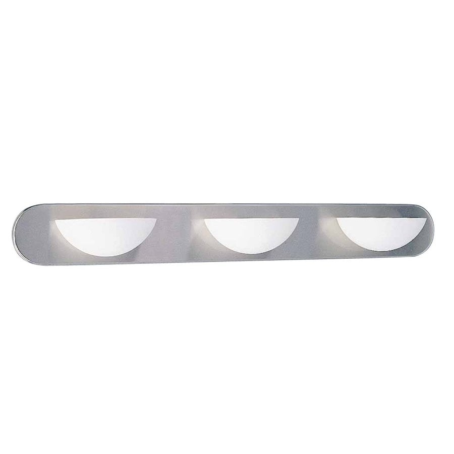 Odon 3-Light Brushed Nickel Vanity Light
