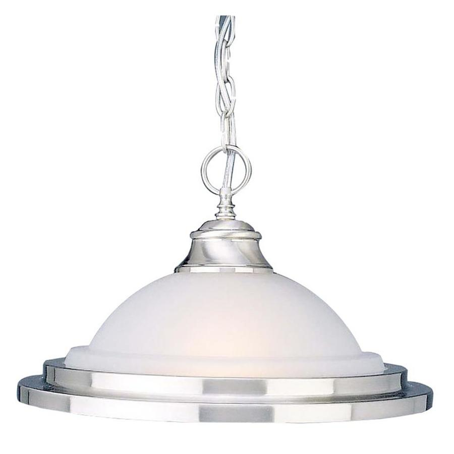 Omak 14.75-in Brushed Nickel Mini N/A Pendant