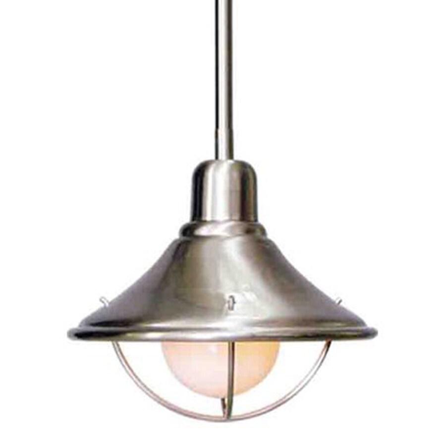 Hahira 8-in Brushed Nickel Single N/A Pendant