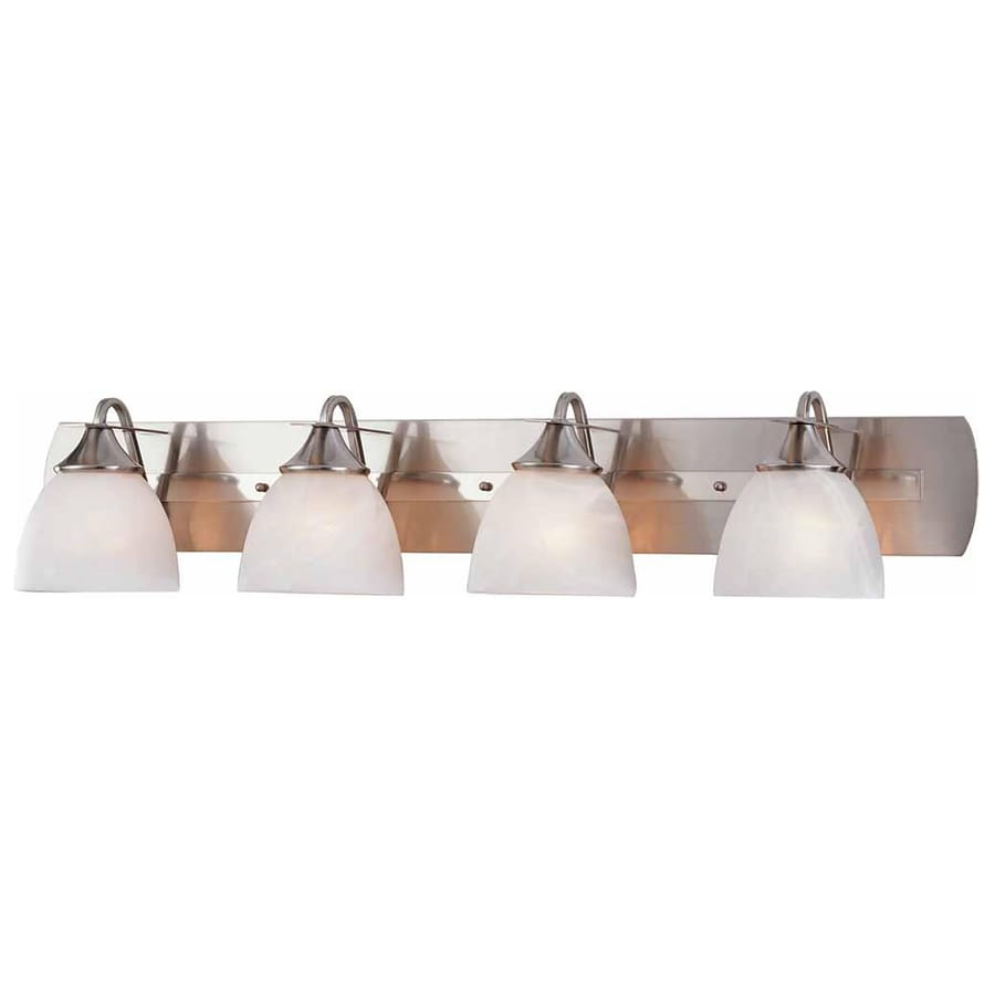Sebeka 4-Light 8.25-in Brushed Nickel Vanity Light