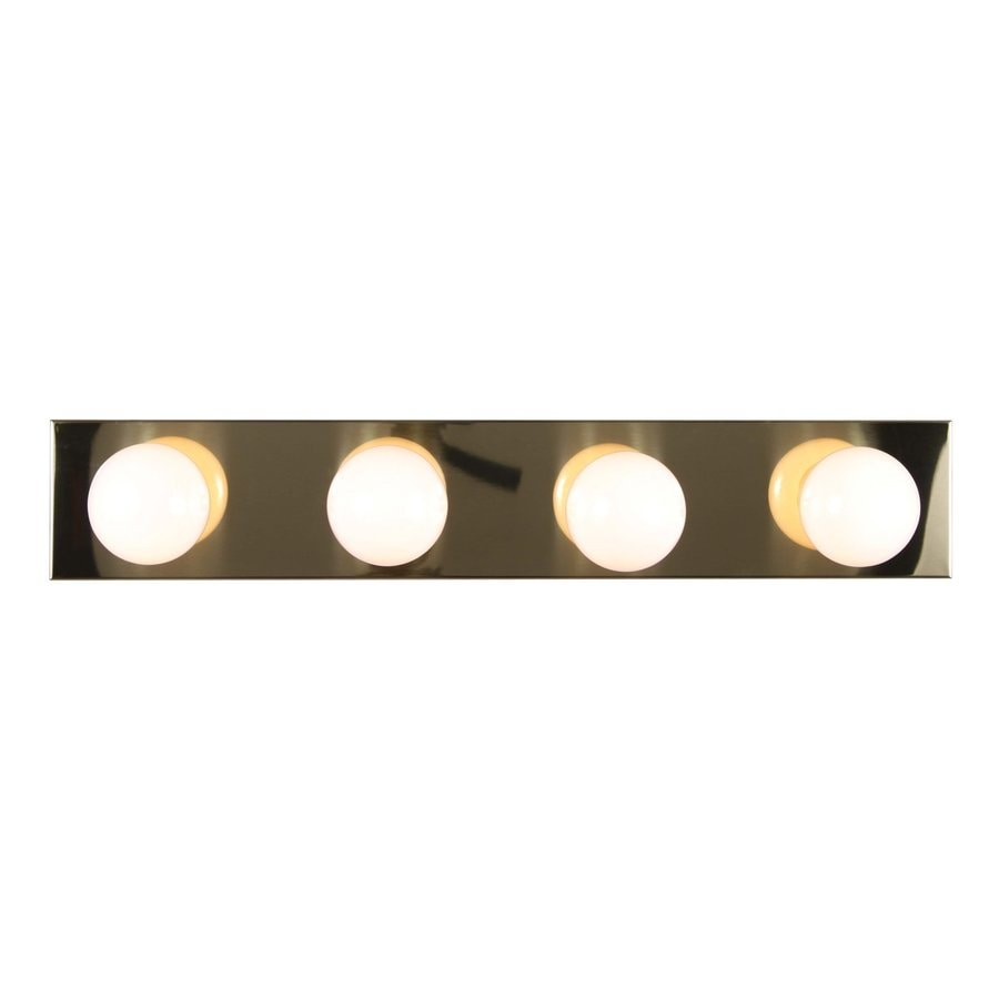 Houma 4-Light Polished Brass Vanity Light
