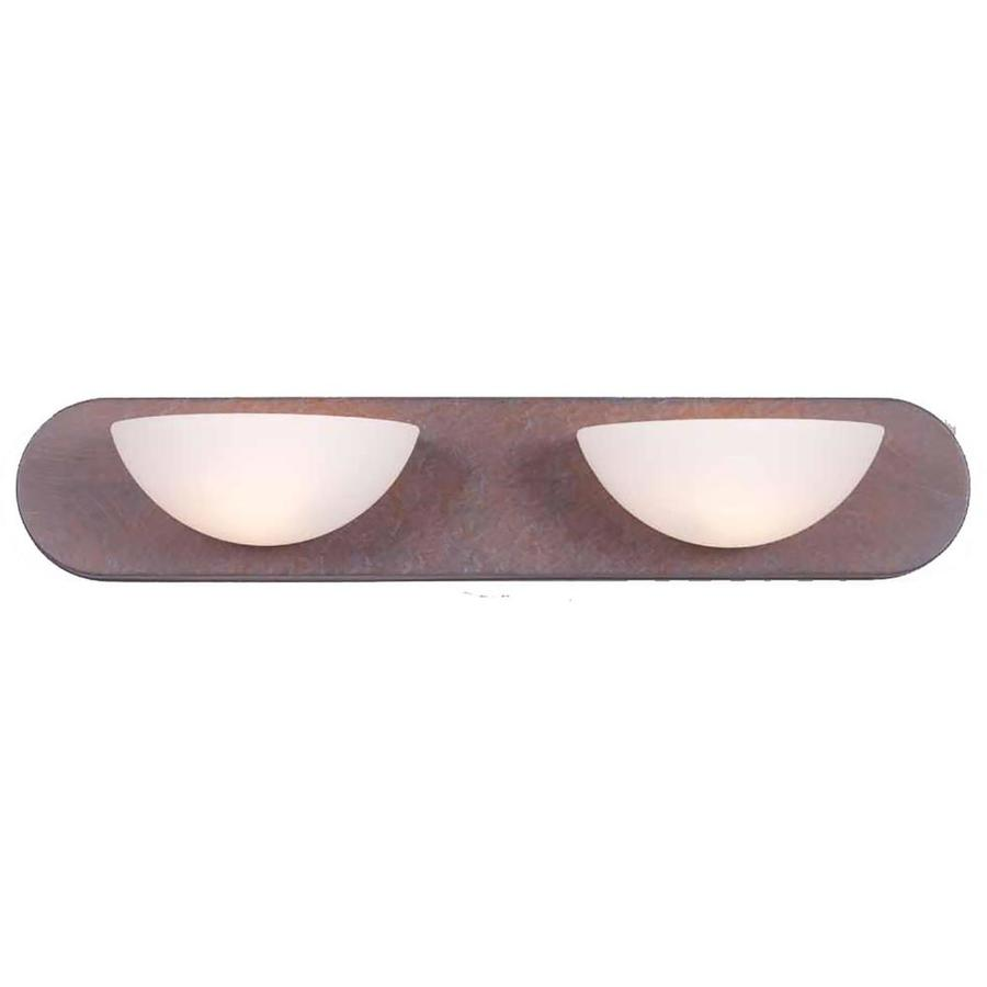 Odon 2-Light 4.5-in Prairie Rock Vanity Light