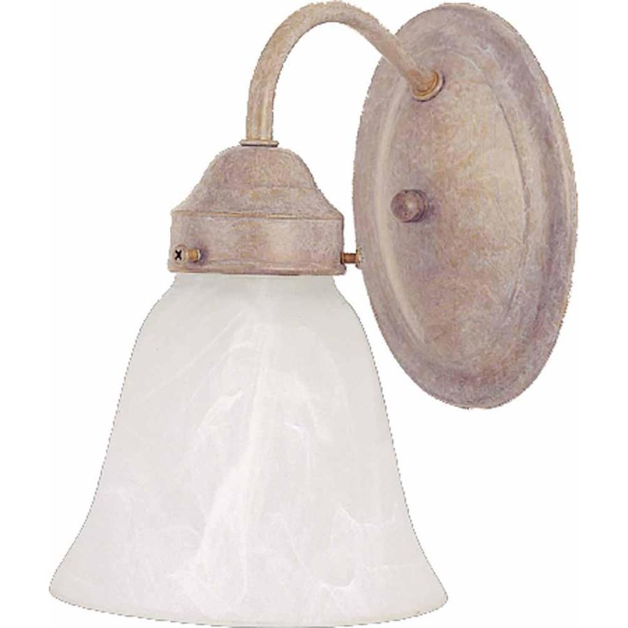 Pierron 1-Light 8-in Prairie Rock Vanity Light