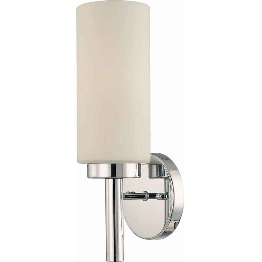 Voyles 5-in W 1-Light Chrome Directional Wall Sconce