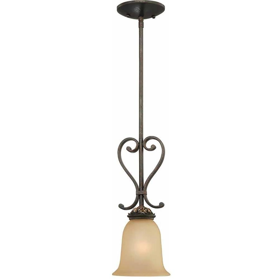 Hadlock 5.75-in Vintage Bronze and Antique Gold Single N/A Pendant
