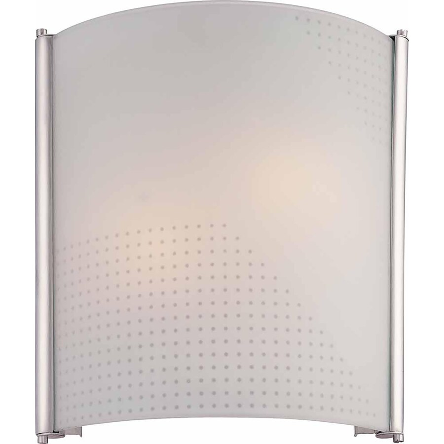 Kountze 11-in W 2-Light Silver Grey Directional Wall Sconce