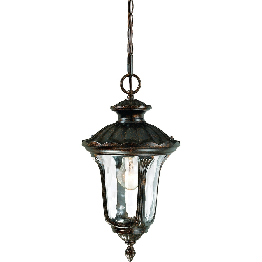Payson 19-in Vintage Bronze Outdoor Pendant Light