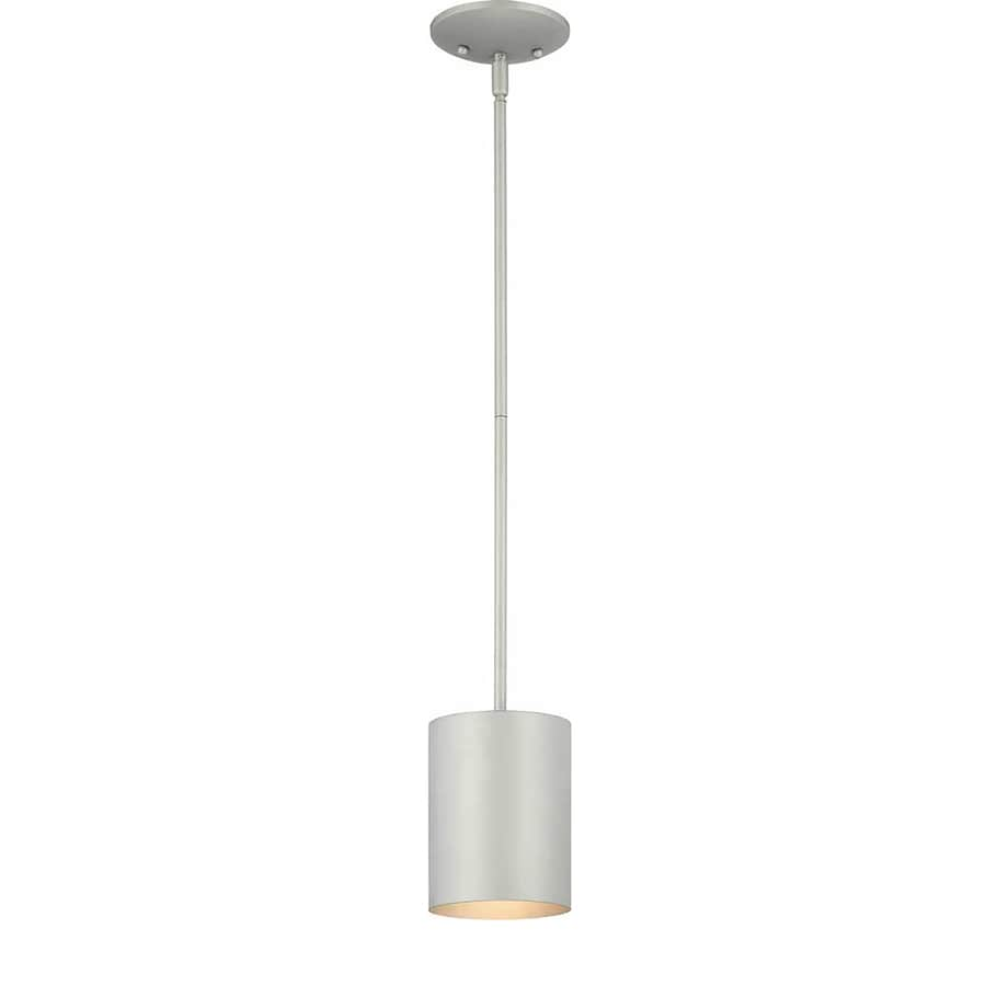 Waucoma 6.75-in Silver Grey Outdoor Pendant Light