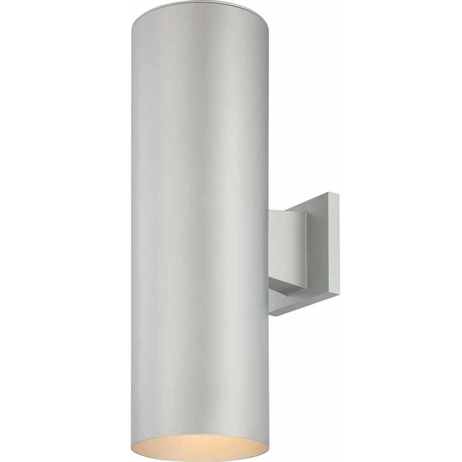 Waucoma 18-in H Silver Grey Outdoor Wall Light