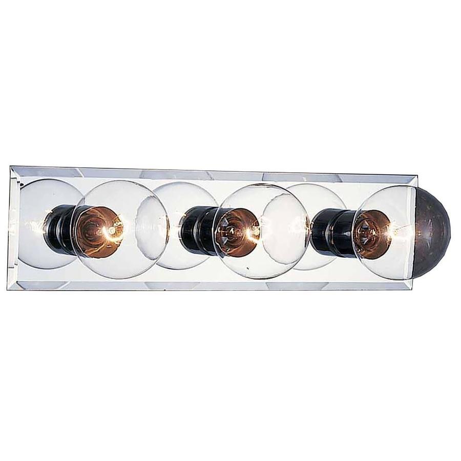 Eyota 3-Light 5-in Chrome Vanity Light
