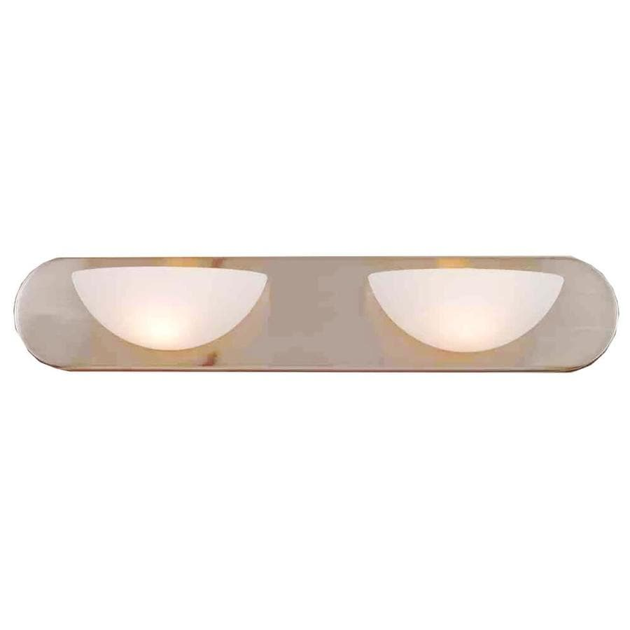 Odon 2-Light 4.5-in Brushed Nickel Vanity Light
