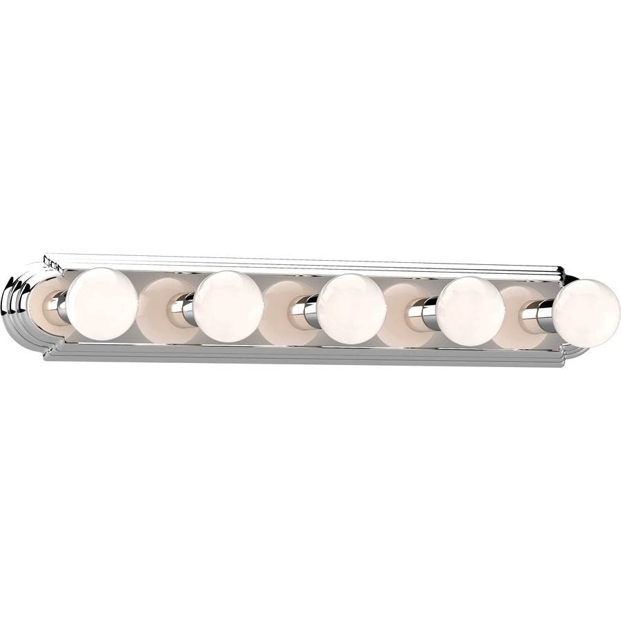 Gratz 5-Light 4.5-in Chrome Vanity Light