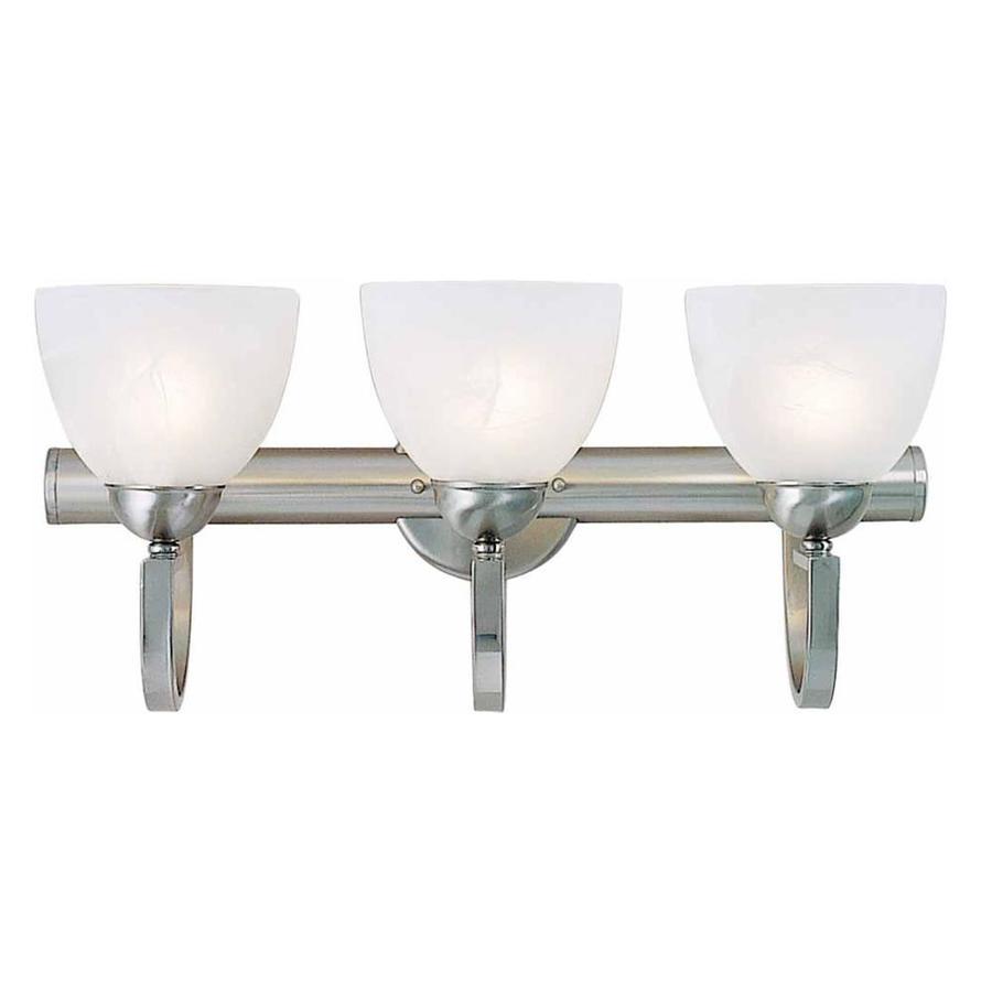 Mulga 3-Light 10.5-in Brushed Nickel Vanity Light