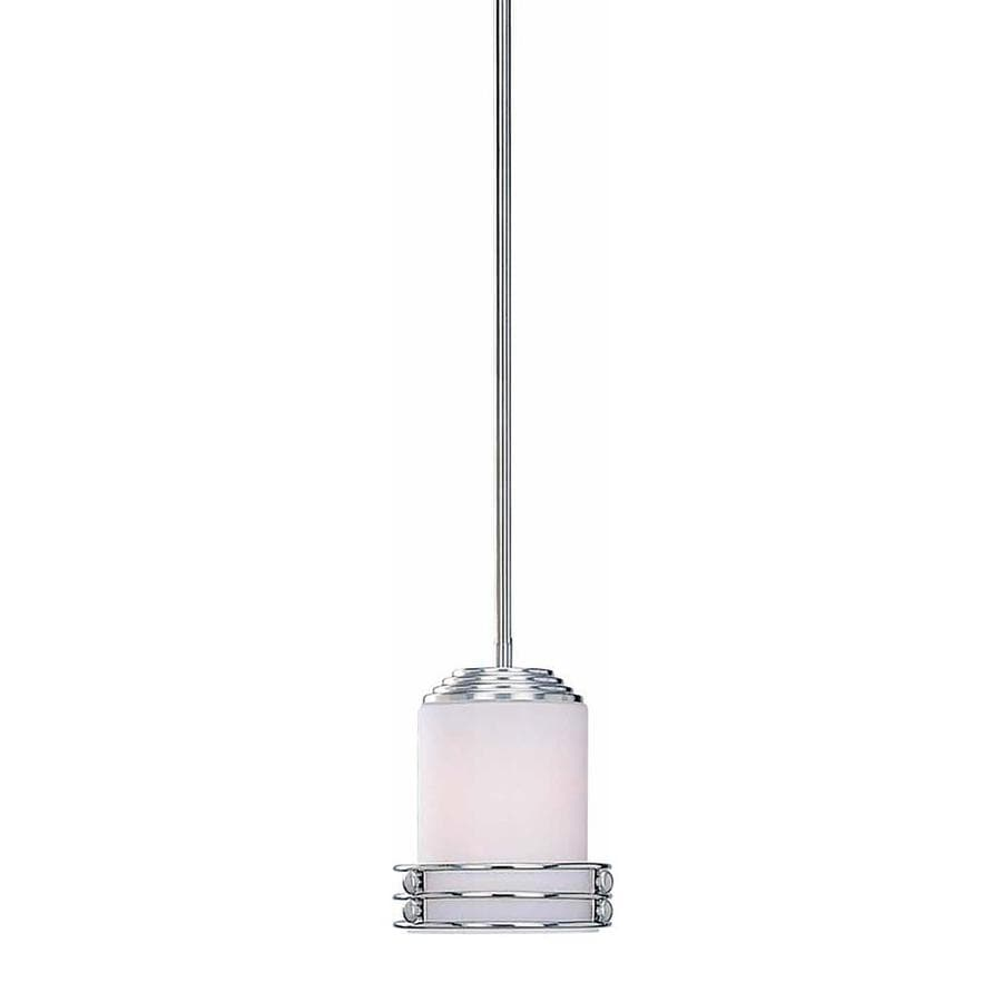 Eudora 6.25-in Brushed Nickel Single N/A Pendant